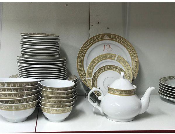 Посуда сервиз на 50 предметов Новая в коробке. Упакованная