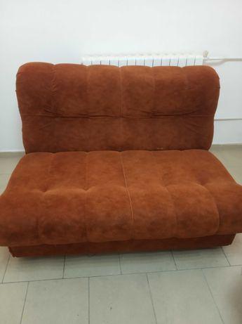 Холна гарнитура три части с разтегателен диван