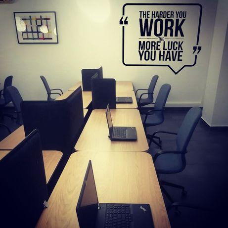 Spatiu de birouri complet echipat - Internet si Utilitati incluse