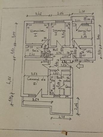 Vând/ schimb apartament 4 camere