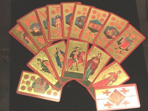Tarotul de Aur al Țarului-Cărți Tarot ed lim lux (aurii complet) - SIG