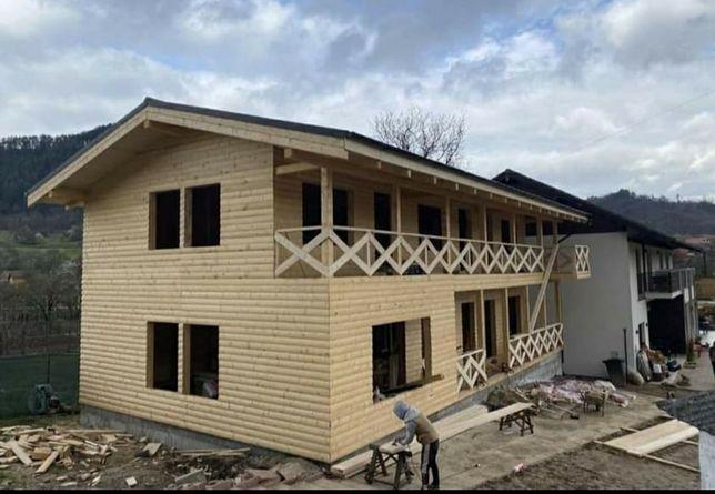 vand case locuibile pe structura metalica sau din lemn