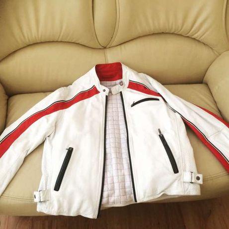 Естествена кожа мъжко яке