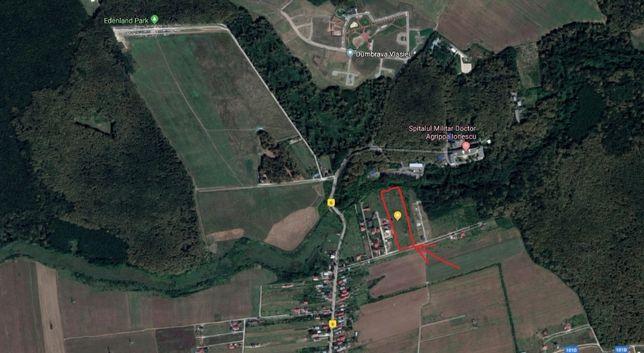Vand Teren Intravilan Balotesti, zona Dumbrava Vlasiei-Edenland 8950mp