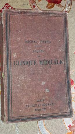 Lecons de clinique medicale Michel Peter an 1893