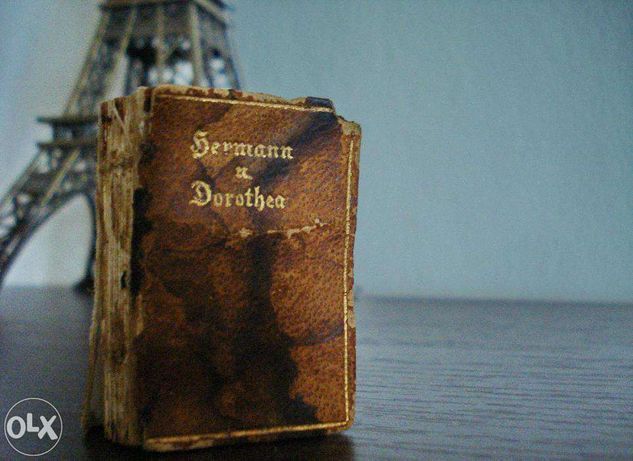 Carte miniatura Johann Wolfgang von Goethe-- Hermann und Dorothea 1907