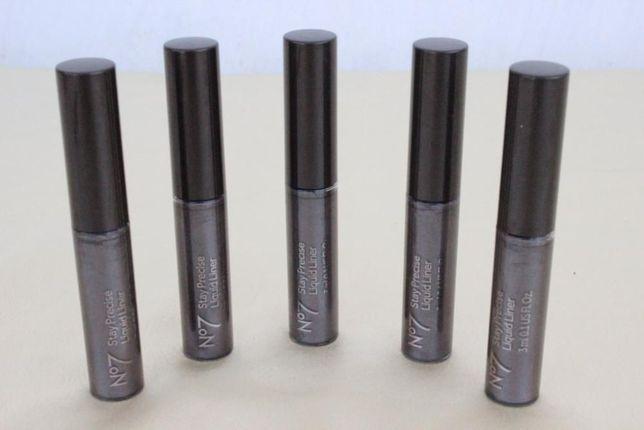 No7 Stay Precise Liquid Liner - Contur Ochii culoare gri argintiu