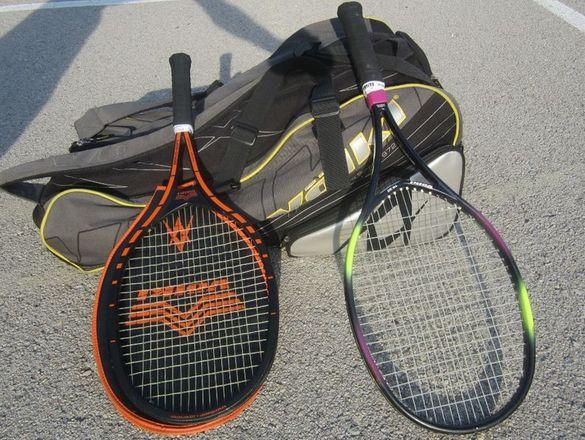 Тенис комплект Volkl - 2 тенис ракети + голям сак