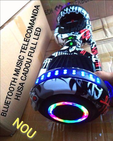 Hoverboard Nou Black Pirat 6,5