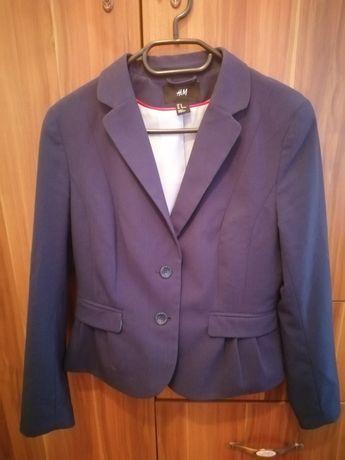 Стилно синьо сако H&M