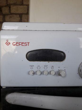 Электрическая газ плита