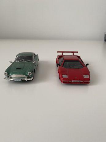 Lamborghini si Aston Martin de colectie