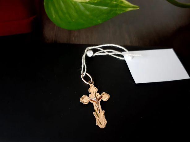Продам золотой крестик.