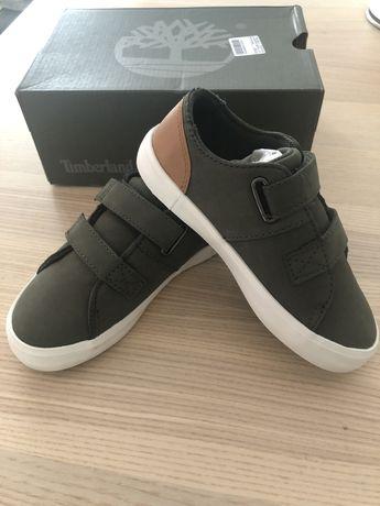 Timberland pantofi sport piele noi, cu velcro