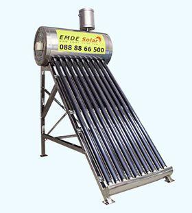 (Слънчев вакуумен колектор EMDE-solar MDSS470-58/1800-15 -150л. -термо
