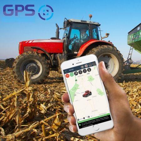 GPS за трактори и багери - тракер / tracker с БЕЗПЛАТНО проследяване