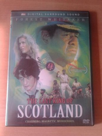 DVD original The Last King of Scotland