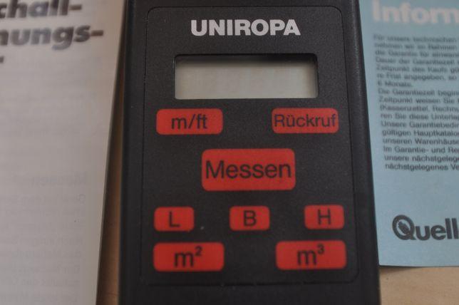 Ruleta cu ultrasunete pentru dimensiuni,suprafete,volume