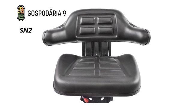 Scaun tractor/utb 445/utb 650/ universal, negru/roșu