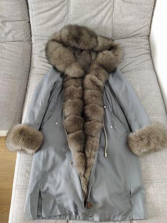 Зимняя женская куртка удлиненная (парка)