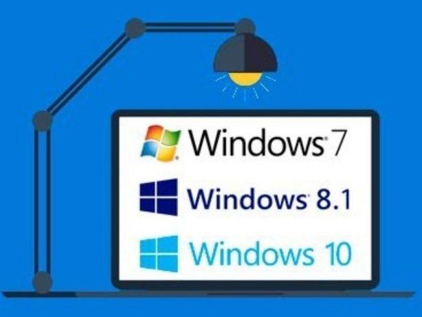 Установка Windows. Чистка компьютеров и ноутбуков.Программист на выезд