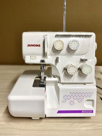 Продам оверлок Janome 8002DX