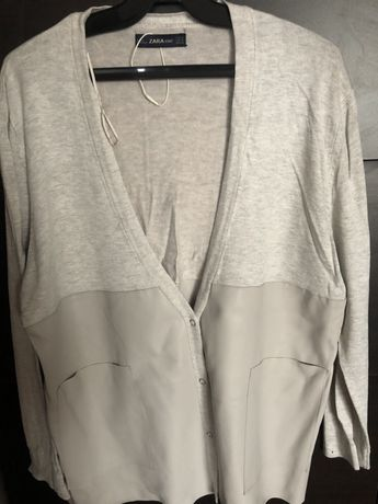 Cardigan ,pulover lung 2 modele Zara