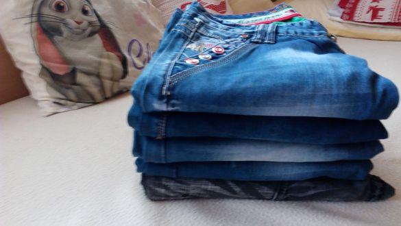 Продавам 5 броя мъжки чисто нови дънки!