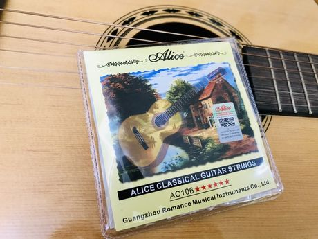 Нейлоновые струны для классической гитары