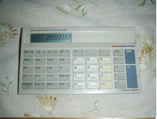 Calculator stiintific Texas Instruments TI-30 GALAXY