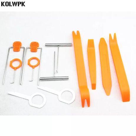 Set spatule 12 piese pentru demontare radio/CD trimuri bord