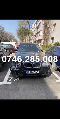Dezmembrez BMW X3 E83 2007 2.0d negru piese roti motor jante aripa