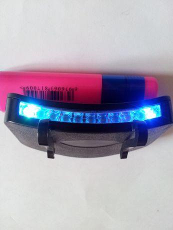 Proiector LED-uri, diferite culori chipiu