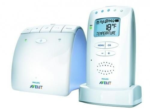 Sistem de monitorizare bebelus tip DECT Philips Avent SCD525/0