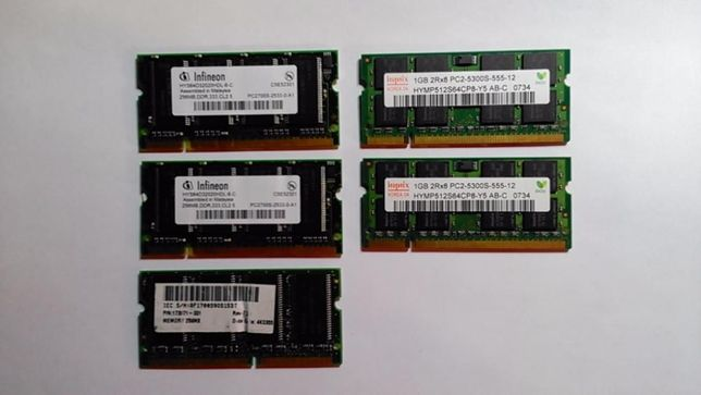 Placute Ram DDR 2 Laptop