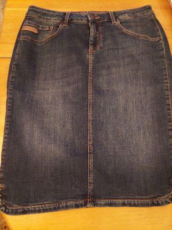 Юбка джинсовая размер М, хлопок, производство Турция