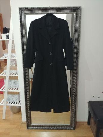 Palton Cambrat Vintage - amestec lana - negu/lung - s/m - anii 2000