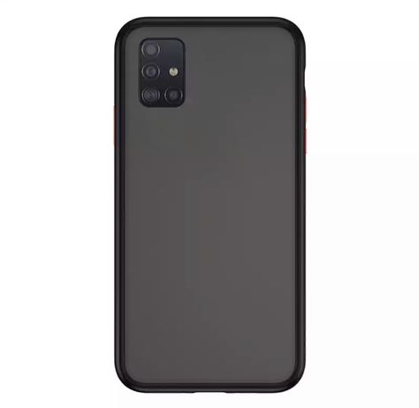 Husa Silicon Hybrid Neagra - Samsung S10 Lite / Note 10 Lite / S20 FE