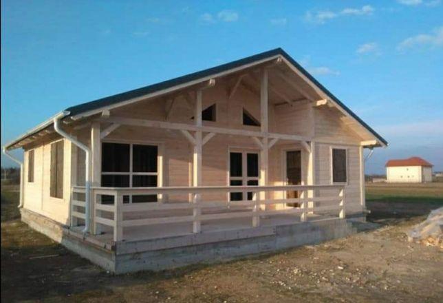 Vand cabane de cea mai bună calitate din lemn duclas