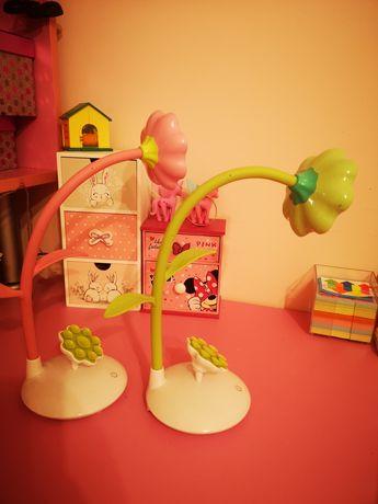 Настолна LED лампа Розова и Зелена