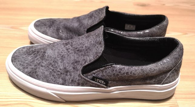 Sneakers Vans Classic Slip On Glitter Leather, 37 stare excelenta