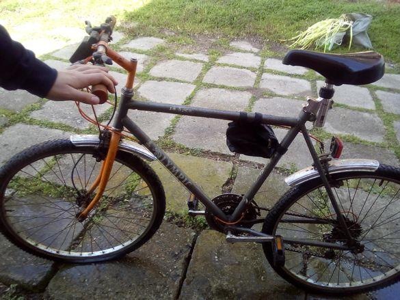 Мъжко колело запазено