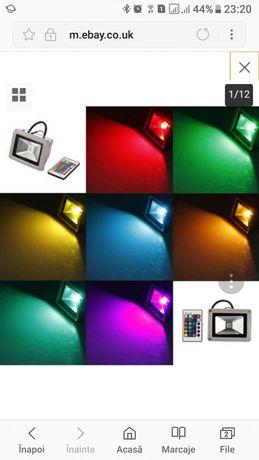 Reflector/proiector cu led color 10w