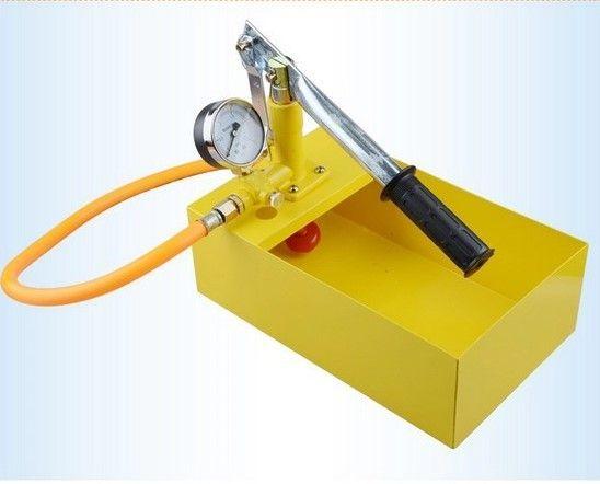 Pompa manuala de testat(umplere) instalatii 25 bar-PRODUS NOU