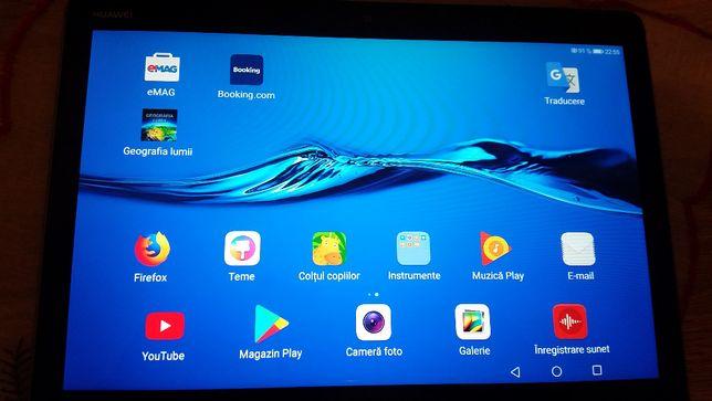 Tableta Huawei MediaPad M3 Lite, 10.1 inch + Husa dedicata originala