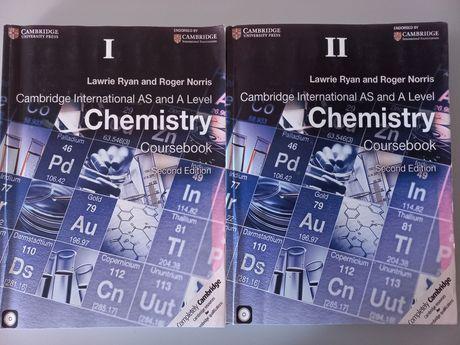 2 части Cambridge international AS and A level coursebook