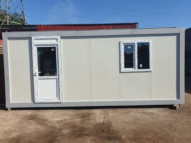Container birou modular standard cabina paza cafenea șantier de locuit