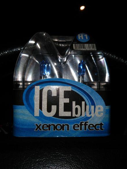 Крушки H1 ice blue xenon effect