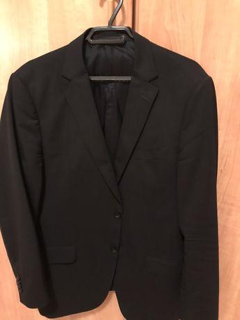 Sacou Ermenegildo Zegna, negru, XL , original