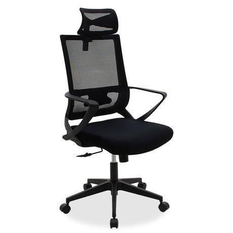 Офис стол батман  с черна мрежа